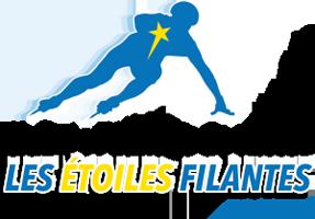 Logo Club de patinage de vitesse Les Étoiles Filantes de St-Tite