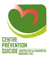 Logo Centre Prévention Suicide Centre-de-la-Mauricie Mékinac