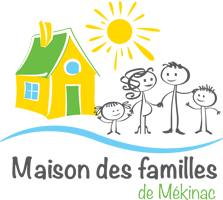 Logo Maison des familles de Mékinac